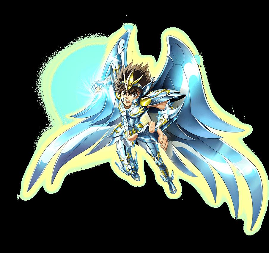 神圣天马座·星矢-立绘